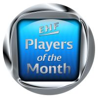 Wolff and Lunde claim the premiere EHF Players of the Month award