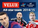 All-Star Team-Wahl der VELUX EHF Champions League