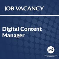 3a6cd70b34b8 Job vacancy  Digital Content Manager
