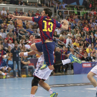 FC Barcelona ease into VELUX EHF FINAL4 with record win