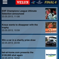 VELUX EHF FINAL4 app now available for Android