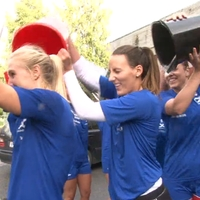 Handball stars take on the Ice Bucket Challenge