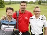 Stephan: prominenter Teilnehmer des VELUX EHF FINAL4 Charity-Golfturniers