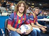Fußball Legende Puyol unterstützt Handballer vom FC Barcelona