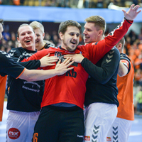 Unforeseen three-way tie at top of Group B as Löwen win and Kielce draw