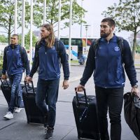 Karabatic in the town - with a new jersey, new teammates and a new special fan