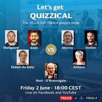Let's get Quizzical with the VELUX EHF FINAL4 players show