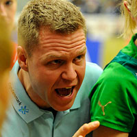 Debutant coach leading Viborg in the Final
