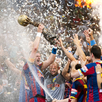 F.C. Barcelona Borges triumph at VELUX EHF FINAL4