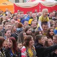 Kielce celebrates heroes from Cologne