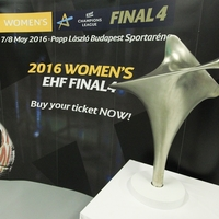 Women's EHF Champions League trophy hits the road