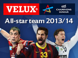 Wahl des VELUX EHF Champions League All-Star-Teams ab sofort möglich