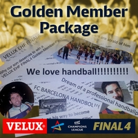 Win the VELUX EHF FINAL4 Golden-Member-Package