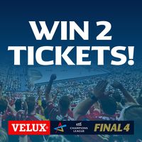 Social media giveaway celebrates 100 days until the VELUX EHF FINAL4