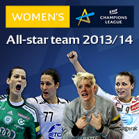 Fans to choose Women's EHF Champions League All-star Team