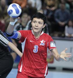 Trefilov's extended arm