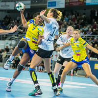 History-makers Buducnost now all-time top points scorers in Women's EHF Champions League