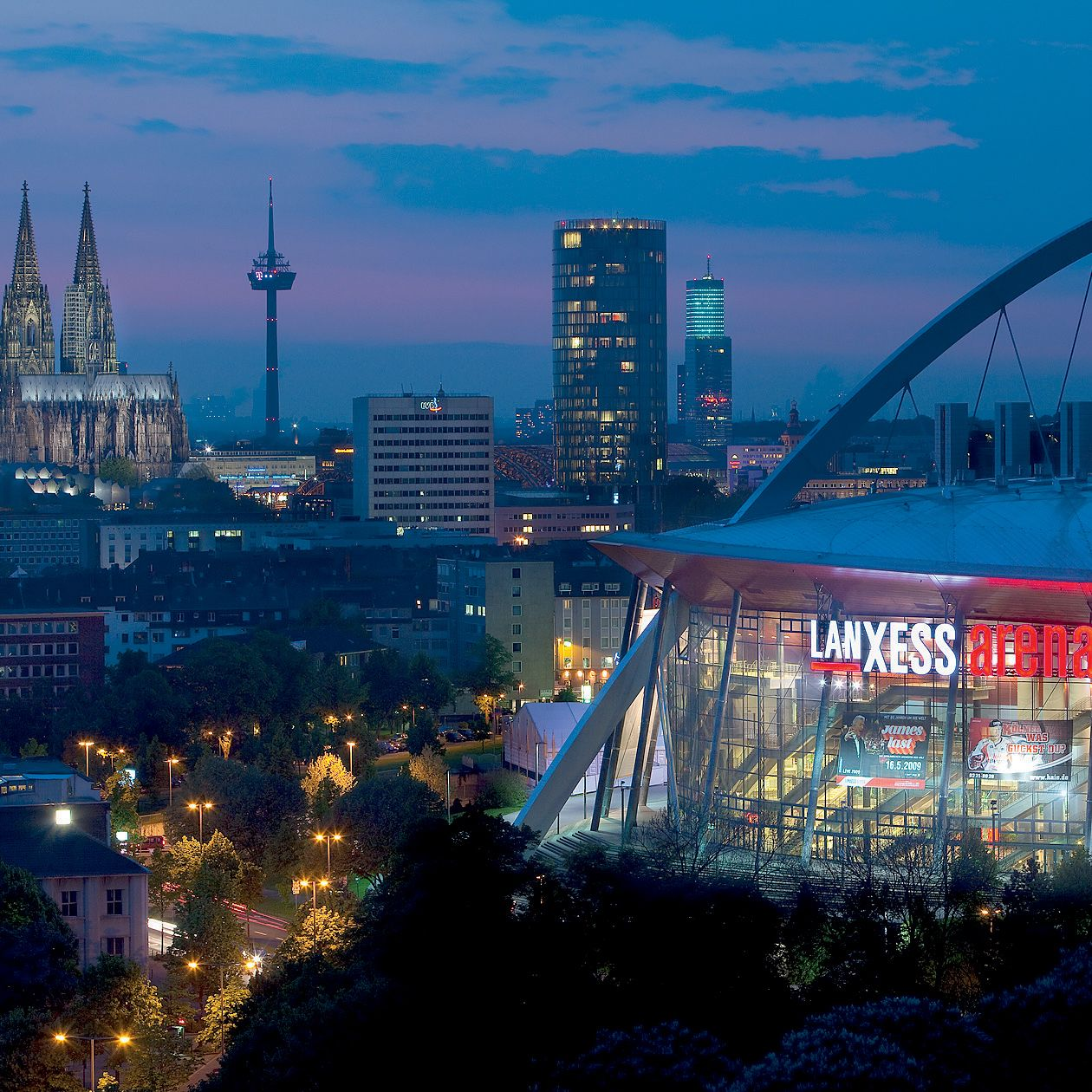 LANXESS arena with a place among the world's best