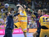 A premiere on holy handball ground