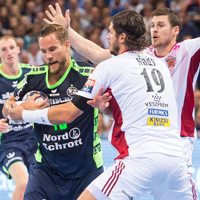 Mahe's last-second strike secures lucky draw for Flensburg