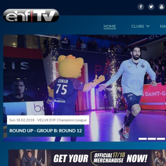 ehfTV relaunches ahead of the season's crunch time