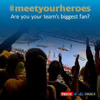 #meetyourheroes at the VELUX EHF FINAL4