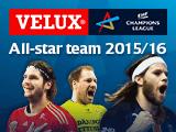All-star team voting beginnt in der VELUX EHF Champions League