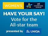 Kezdődik a szavazás az EHF női Bajnokok Ligája All Star-csapatára!
