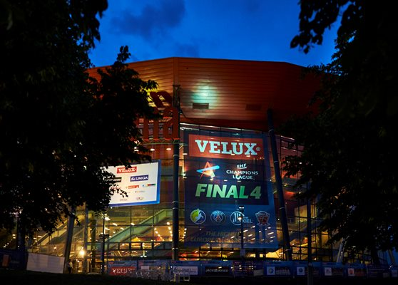 Join the Sky charity auction and win a special VELUX EHF FINAL4 package