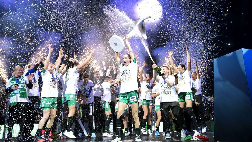A Győr drámai hosszabbítás után Bajnokok Ligája győztes