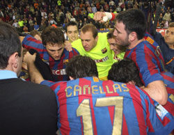 Barca: Successful German Tour