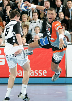 Montpellier enjoy Handball show