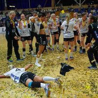 Holstebro win their third title in four years