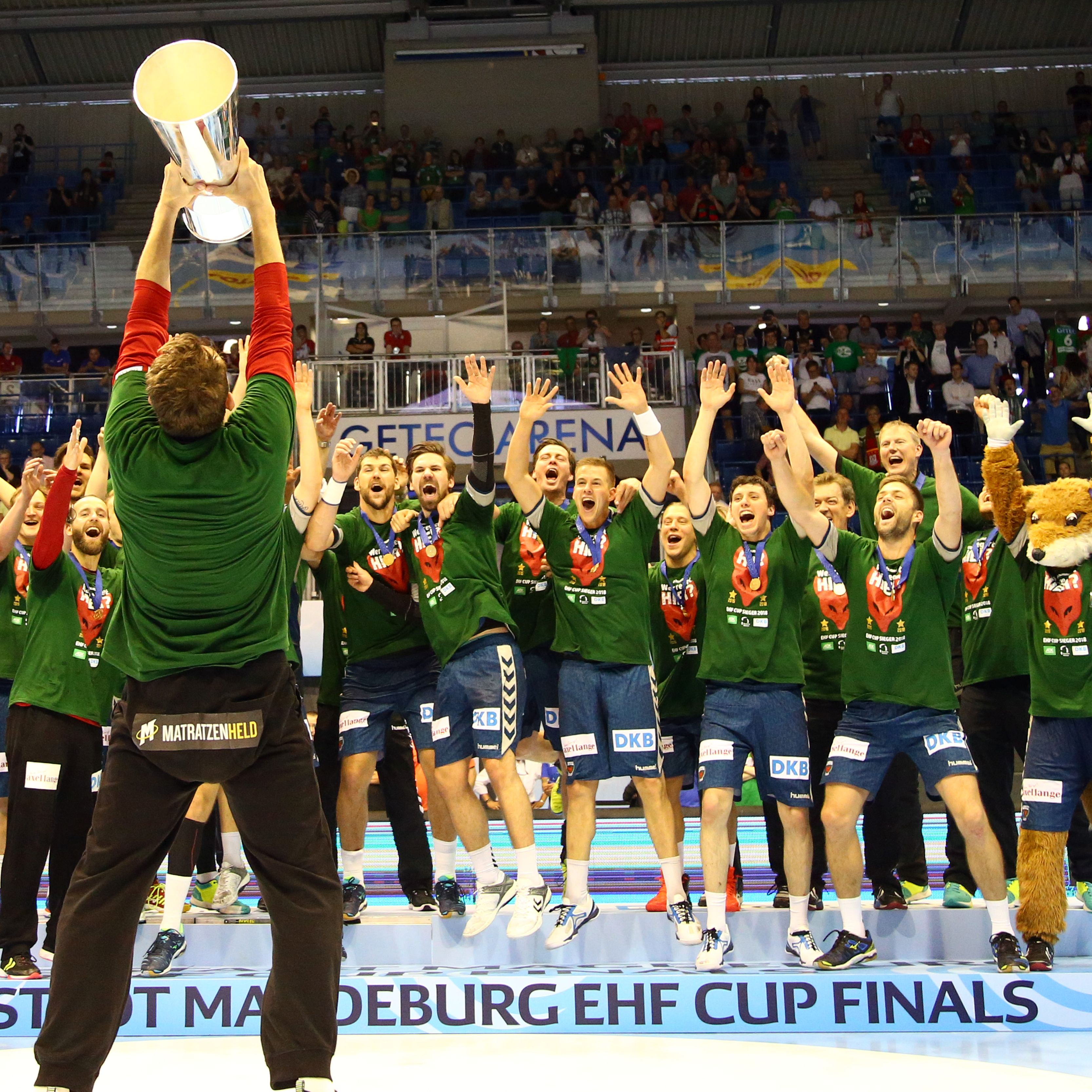 Berlin raise EHF Cup for the second time