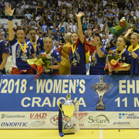 Inspired Craiova win Women's EHF Cup in a thriller